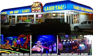 The Fun Factor Family Fun Centre - Laser Tag, MiniGolf,Lazer