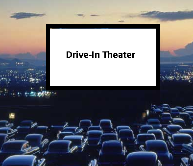 Rustic Tri-View Drive-In