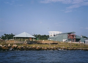 The Estaurium at the Dauphin Island Sea Lab