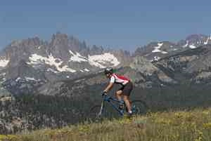 Biking in Mammoth Lakes