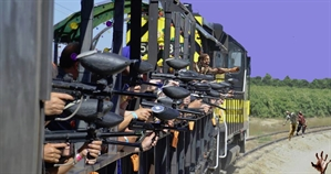 Zombie Hunter Paintball Train Ride