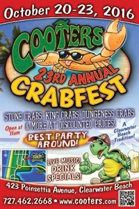 Cooters 23rd Annual Crab Fest - Clearwater Beach, Florida 33767