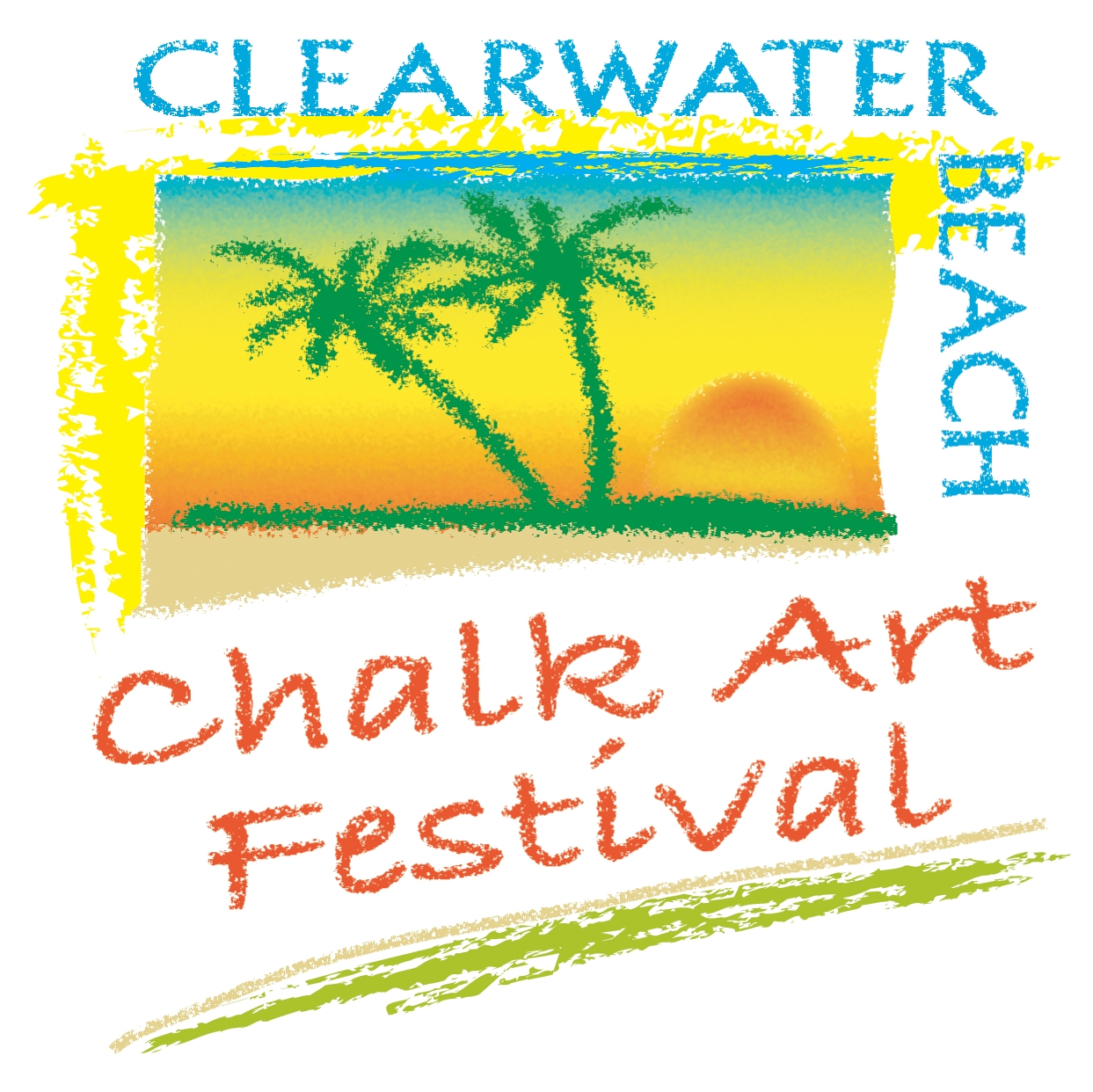 Clearwater Beach Chalk Art Festival