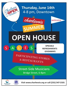 Charlevoix Summer Merchant Open House