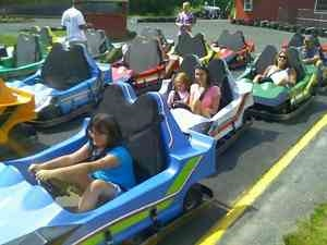 Weirs Beach Go-Kart Track