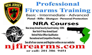 New Jersey Firearms Academy, Inc. - Jersey City, New Jersey 07305