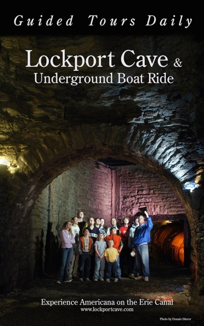 Lockport Cave & Underground Boat Ride On The Erie Canal