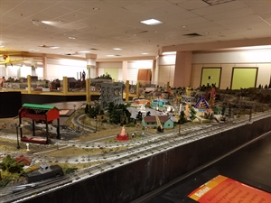 The Dayton Train Show at the Upper Valley Mall