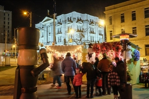 Steubenville Nutcracker Village and Advent Market