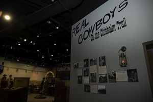 Real Cowboys on The Chisholm Trail exhibit