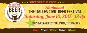 The Dalles 7th Annual Beer Festival