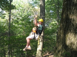Thomas Falls Zip Line Challenge and Ropes Course