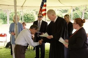 Naturalization Ceremony at Patrick Henry's Red Hill