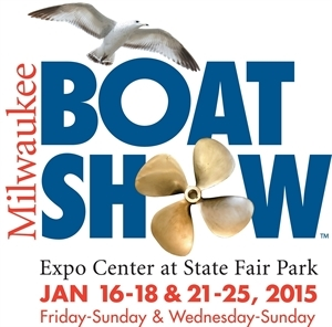 Milwaukee Boat Show in the Expo Center at State Fair Park