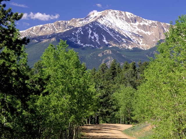Pikes Peak - America's Mountain - Cascade, CO  80809