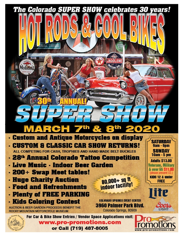 30th Annual Super Show & Swap