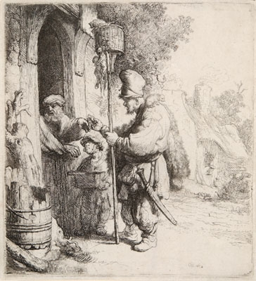 Sordid & Sacred: the Beggars in Rembrandt's Etchings