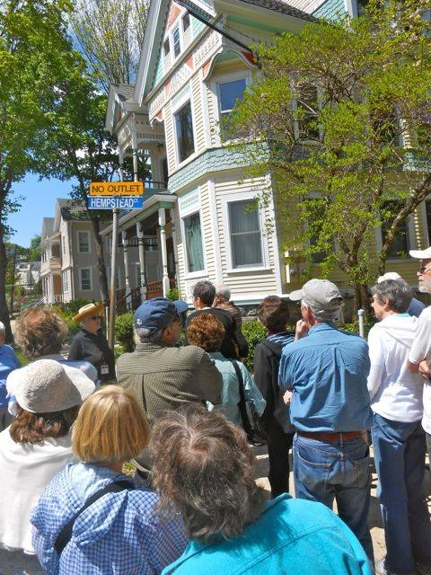 CT Trails Day Walking Tour: Hempsted Historic District