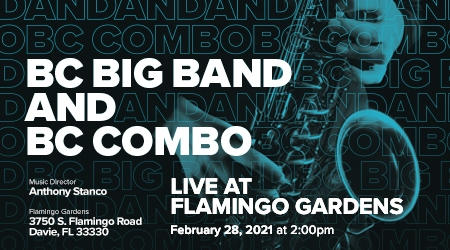 Live Jazz Performance at Flamingo Gardens Featuring the B