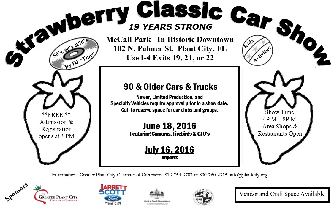Plant City's Strawberry Classic Car Show