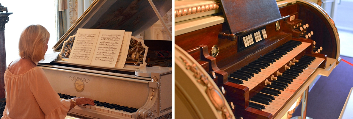 Organ & Piano Demonstrations - Live Music at Whitehall