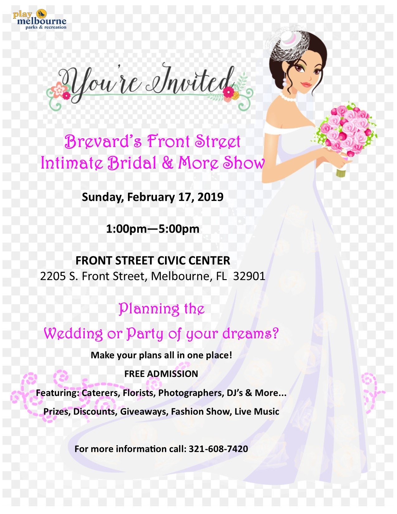 Brevard's Front Street Bridal and More Show