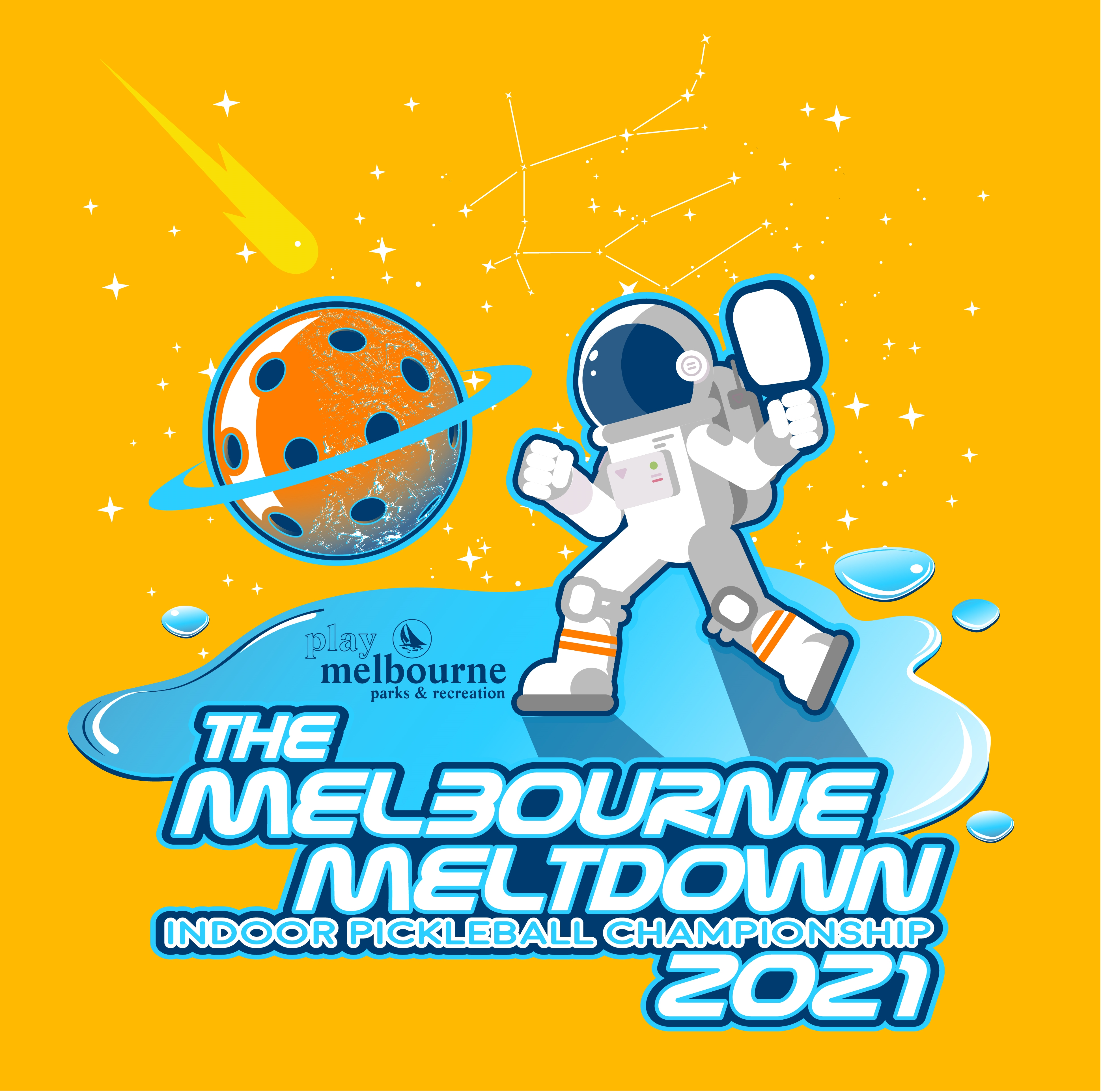 3rd Annual Melbourne Meltdown Indoor Pickleball Championship