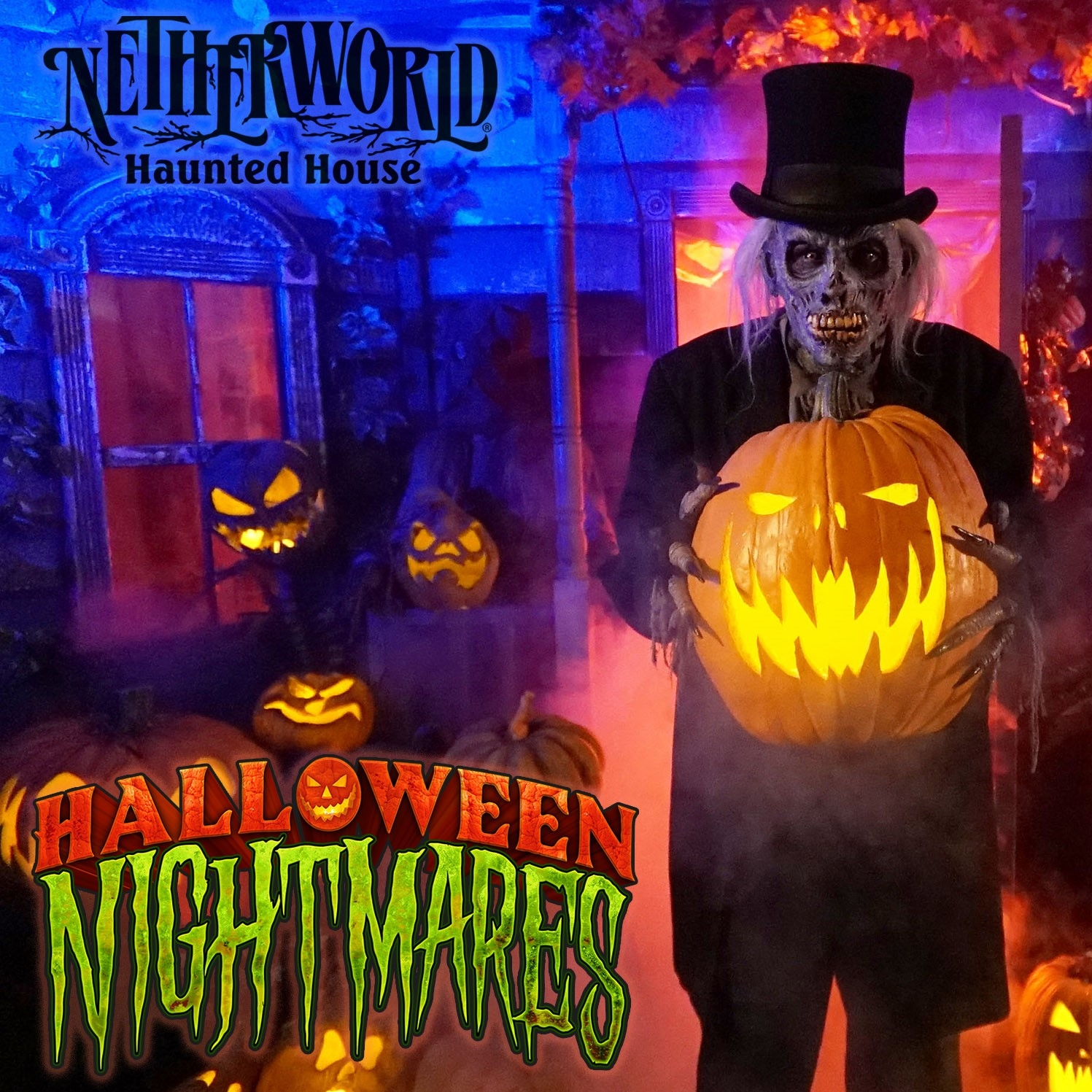 Get Your Tix For NETHERWORLD Haunted House