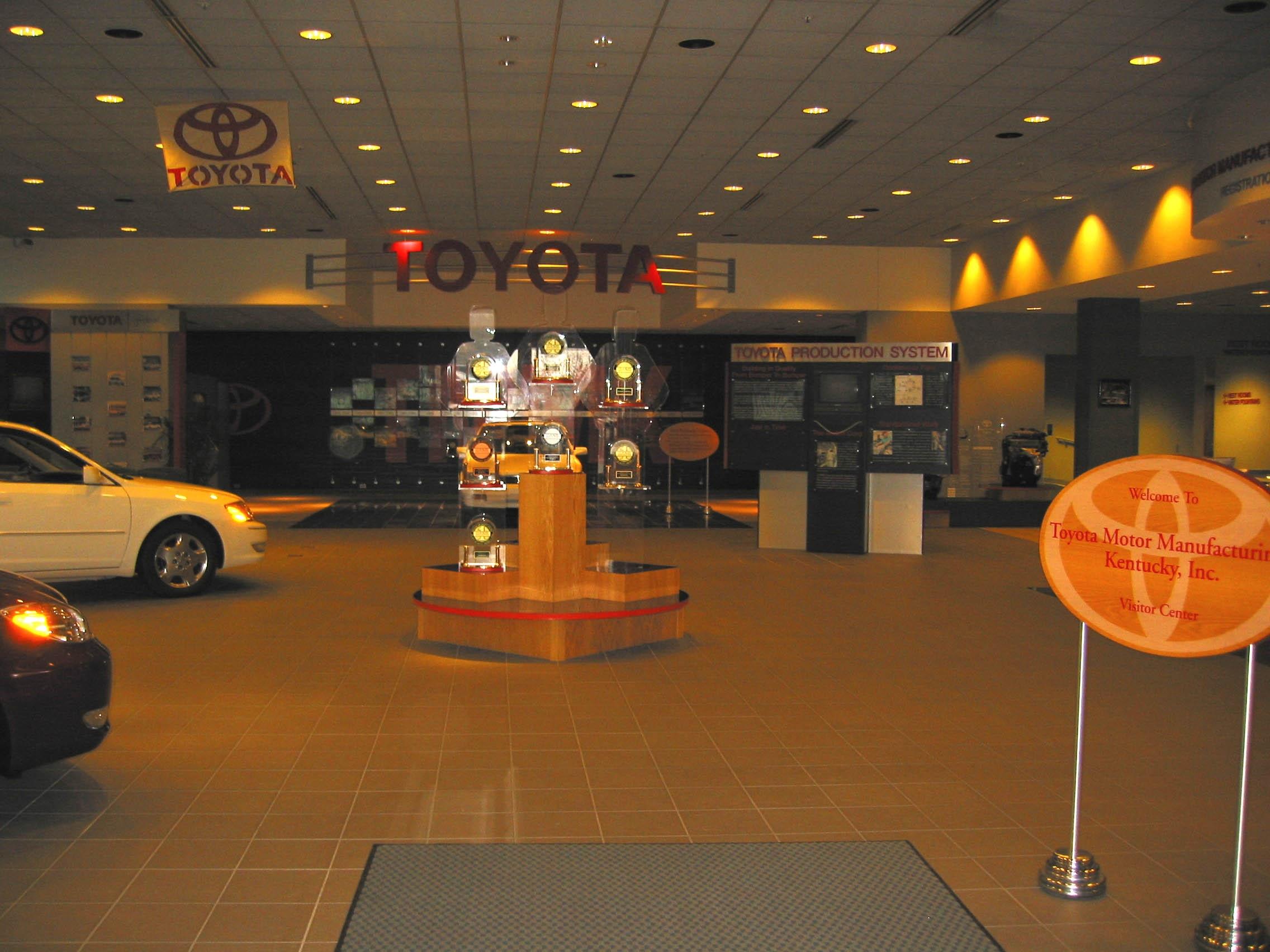 Toyota Motor Manufacturing Kentucky Inc Georgetown Ky