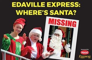 Edaville Express: Where's Santa? Train Package