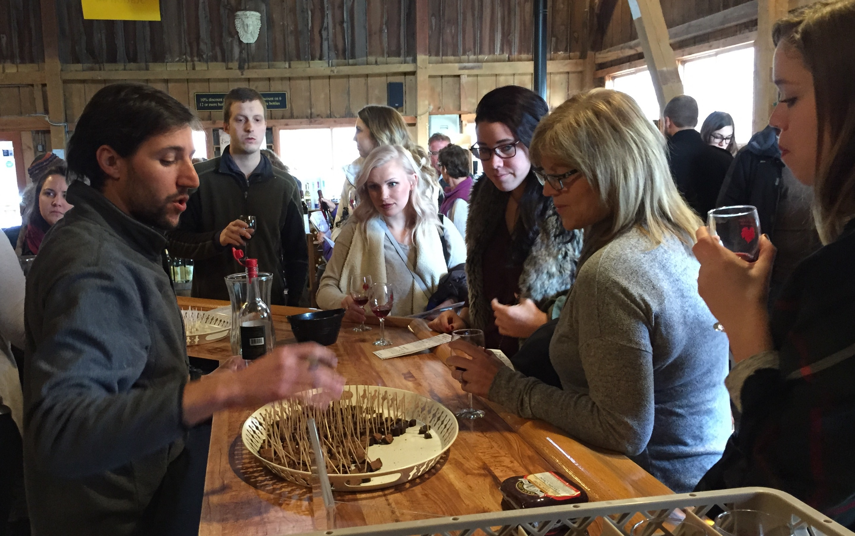 Spring Wine, Cheese and Chocolate Weekend!