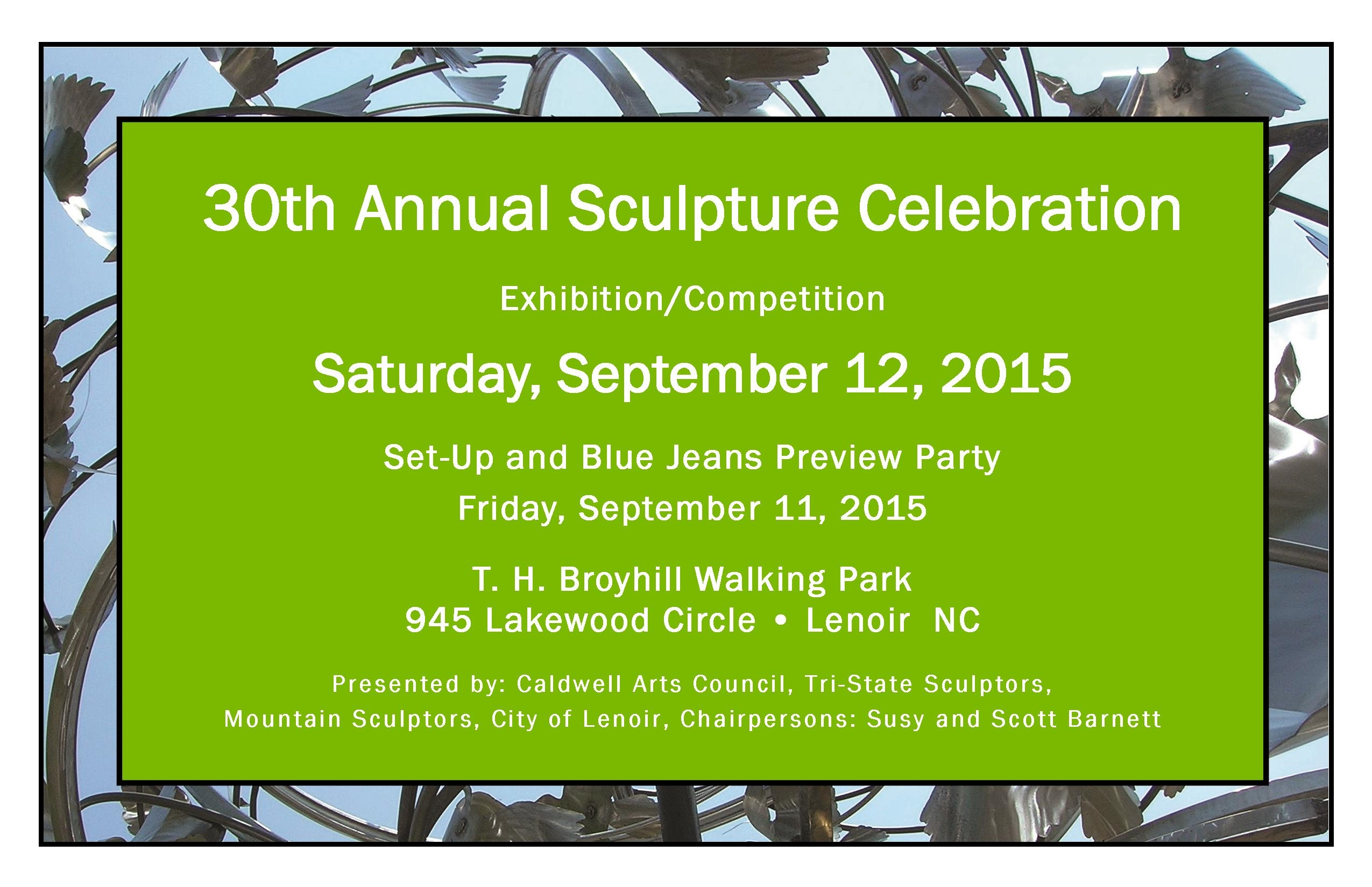 30th Annual Sculpture Celebration