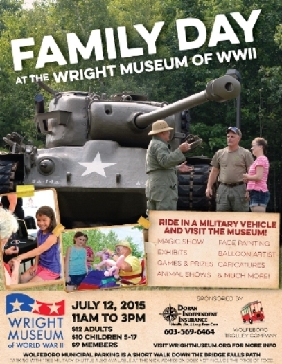 Family Day at the Wright Museum of World War II