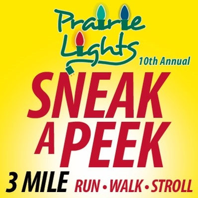 Prairie Lights Sneak-a-Peek Run/Walk