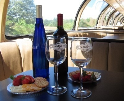 Wines In The Pines Train (wine-tasting)