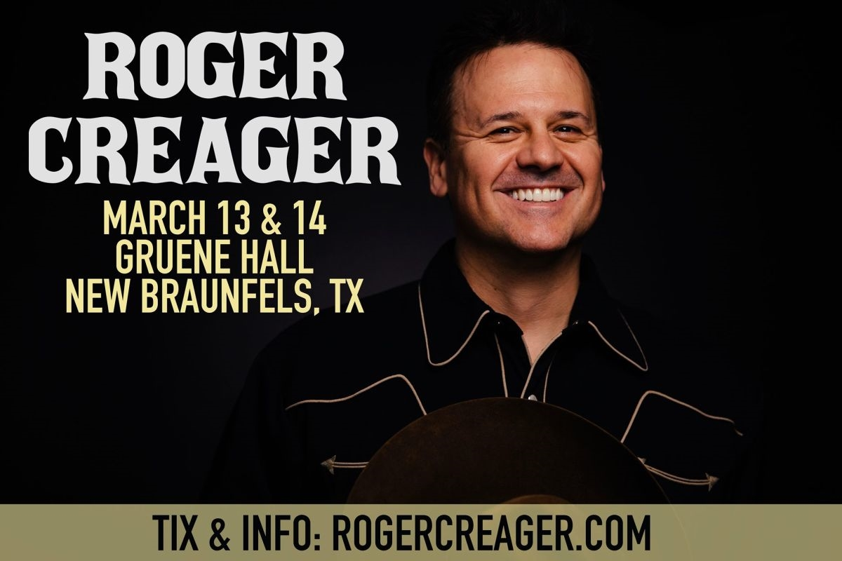 Roger Creager Live at Gruene Hall