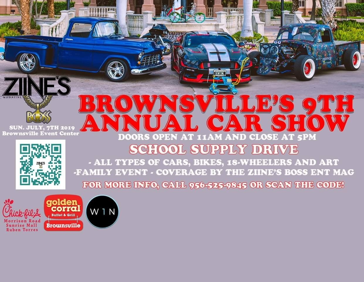 Brownsville's 9th Annual Car Show - Brownsville, Texas 78521