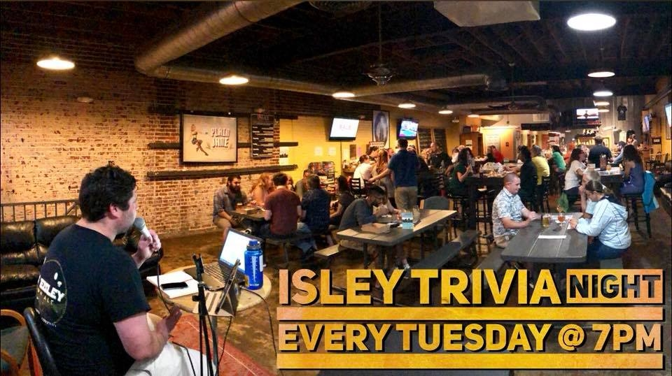 Trivia Tuesdays at Isley Brewing Company - Richmond, VA 23220