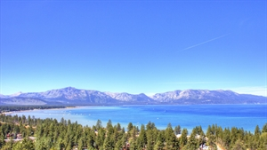 vacation in Lake Tahoe